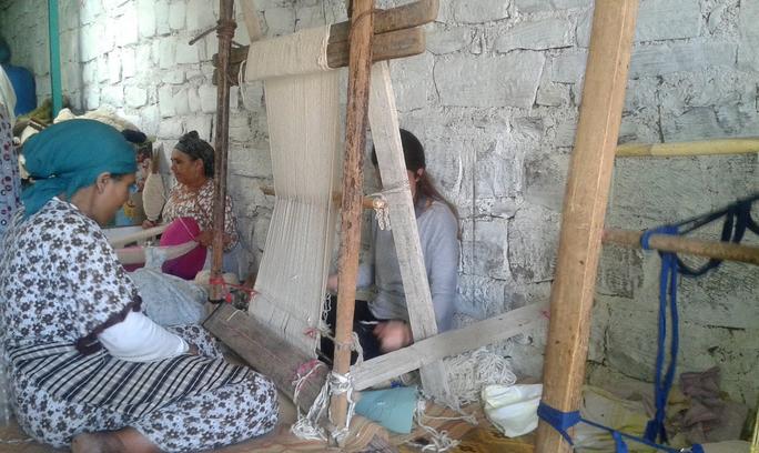 Cooperative Chorouk, Anou Community, Tounfite,  Moroccan Craft, Moroccan Artisans, Designer Sabrina Kraus Lopez