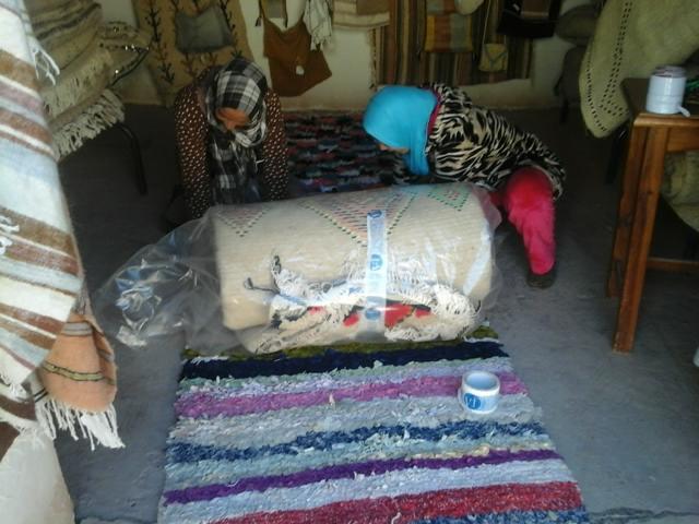 Timdokkals Beni Ourain Rug Morocco
